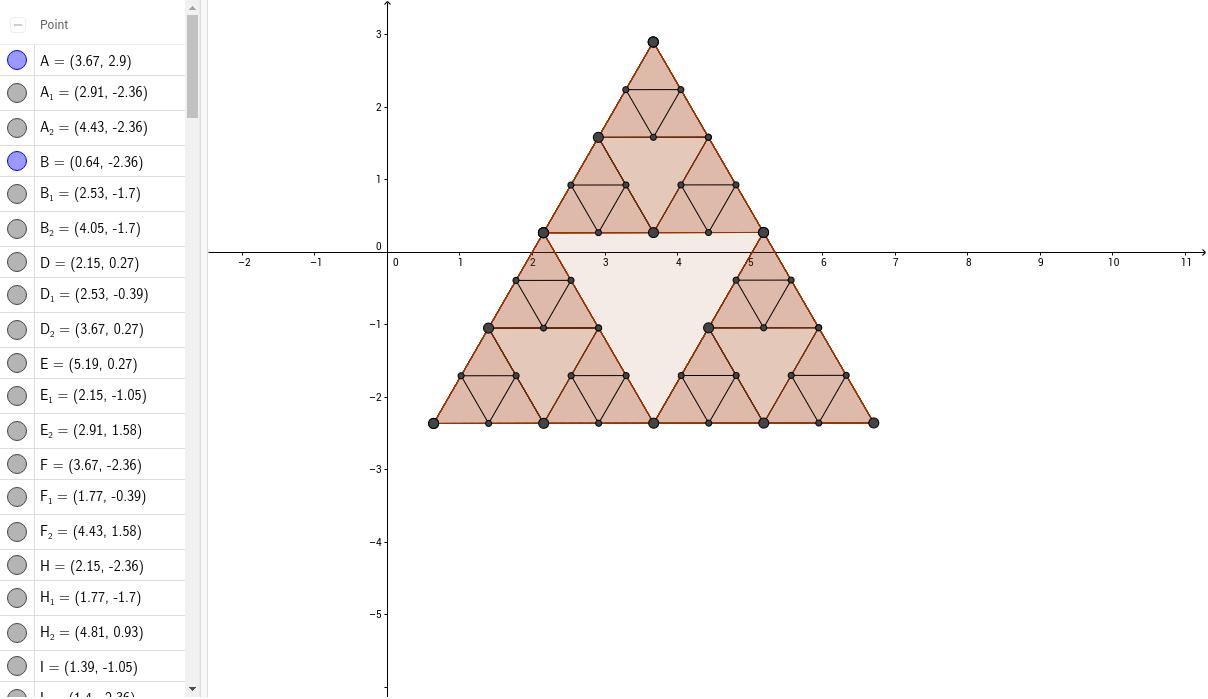 Worksheets Sierpinski Triangle Worksheet sierpinski triangle geogebra