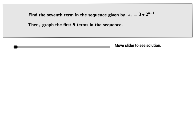 UCSS Math I 2.7.1 Example 5