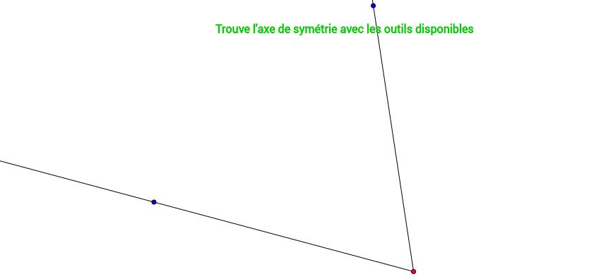 Trouve l'axe de symétrie 5/7