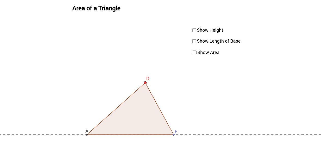 Triangle Area