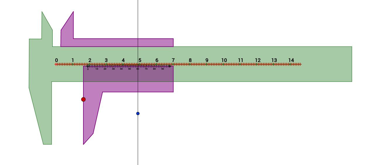 Měření délky posuvným měřítkem