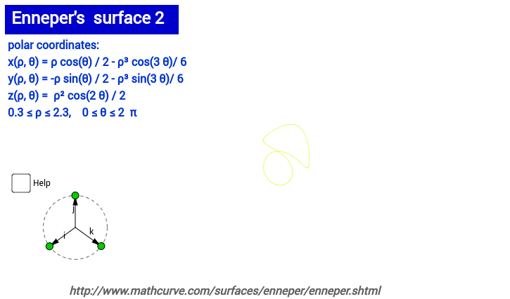 Enneper's surface 2