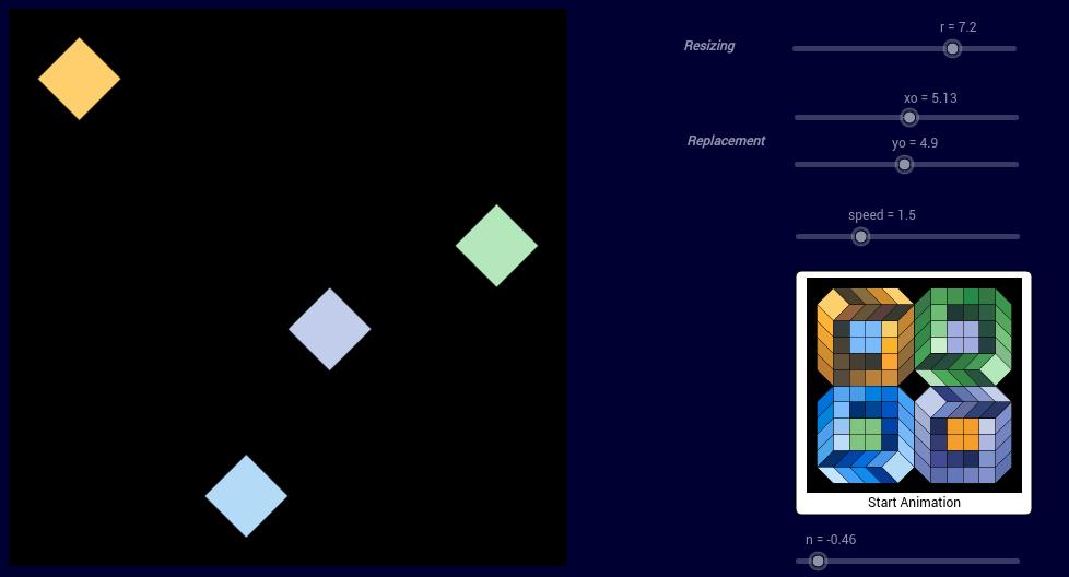 Vasarely Op-Art: Sans Titre