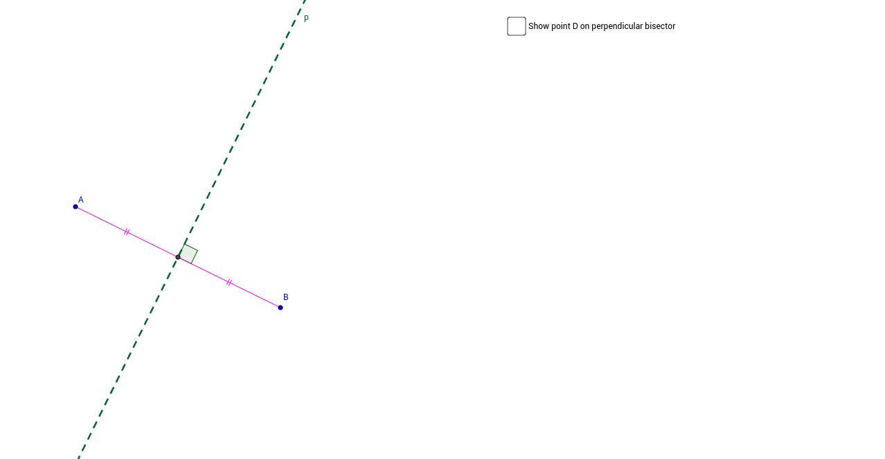 Perpendicular Bisector Theorem (Part 2)