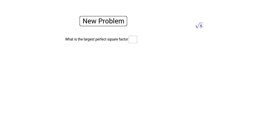 Simplest radical form - GeoGebra