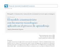 El modelo constructivista con las nuevas tecnologías.pdf