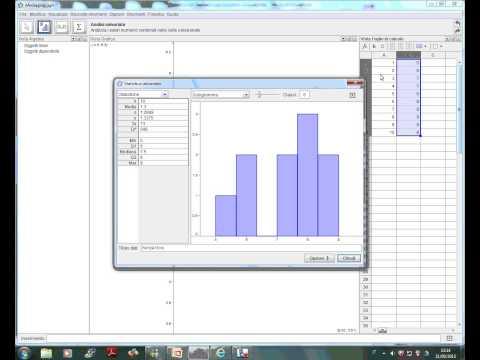 Statistica con GeoGebra