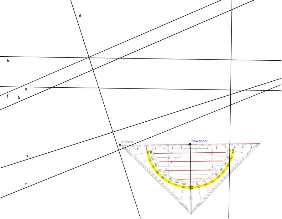 Parallele Und Normale Geogebra