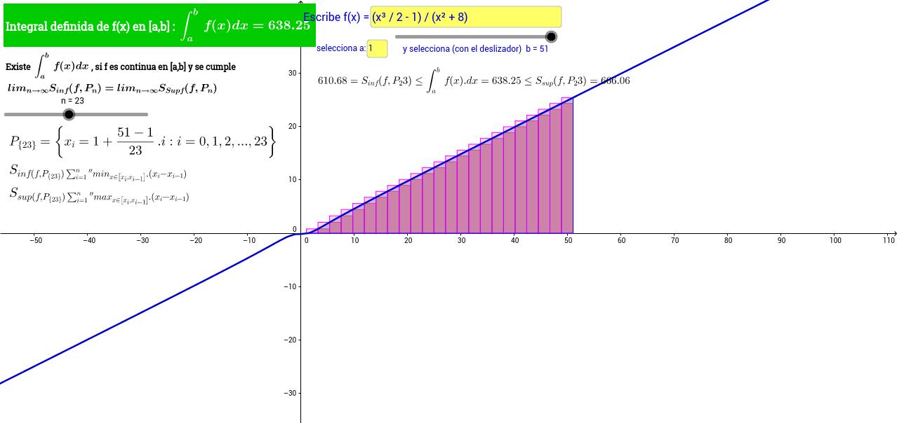 Calculadora de integral definida