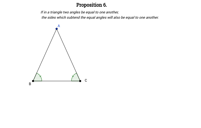 Elements I: Proposition 6
