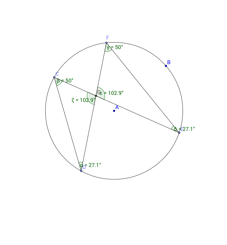 CT - Angles in same segment