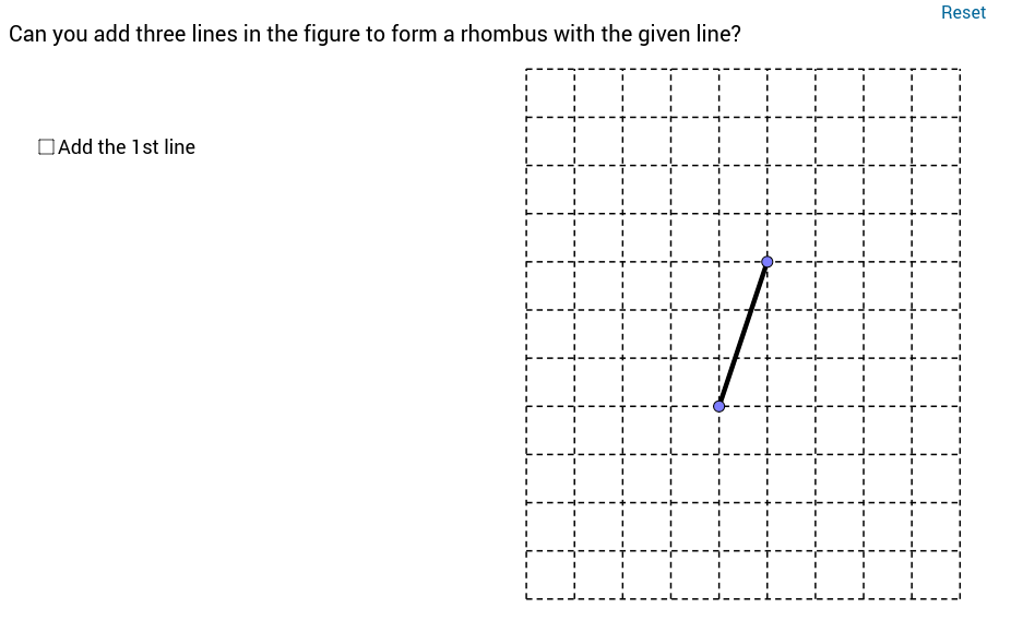 Drawing Rhombus on the Grid