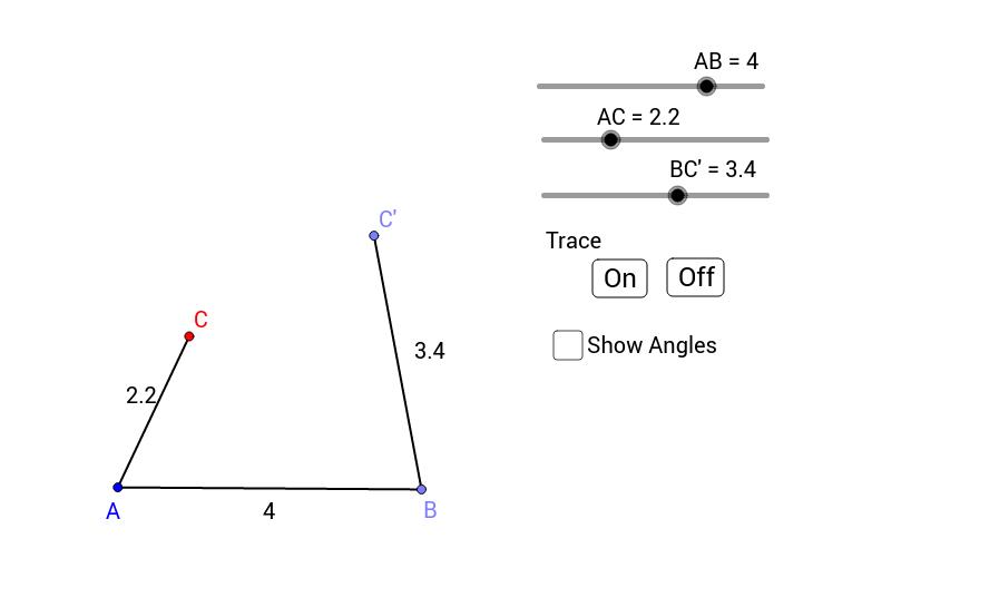 Triangle Congruence - SSS