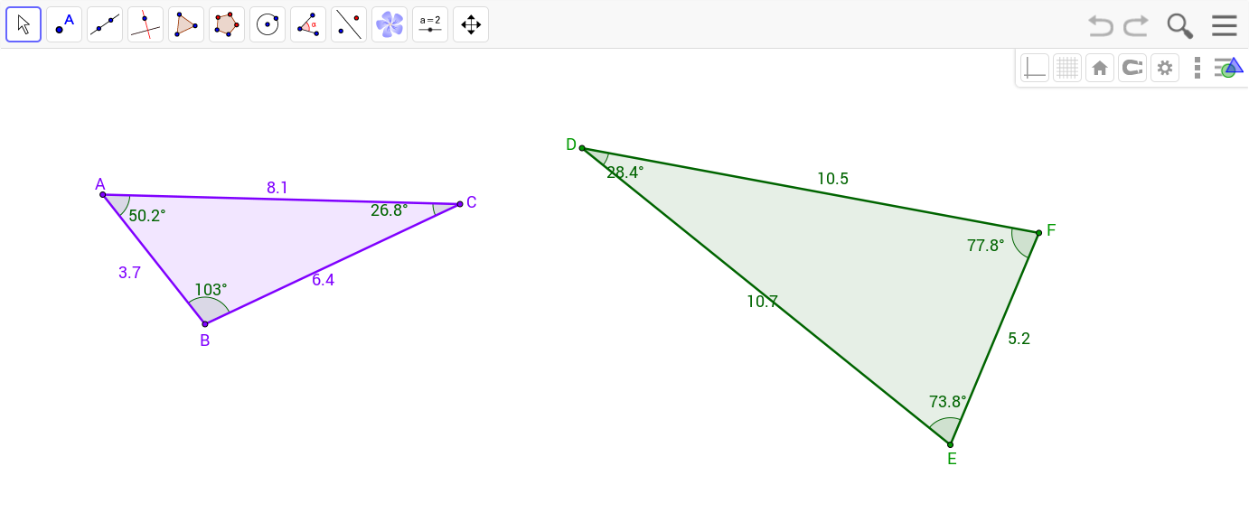 Triangle Inequalities GeoGebra – Triangle Inequalities Worksheet