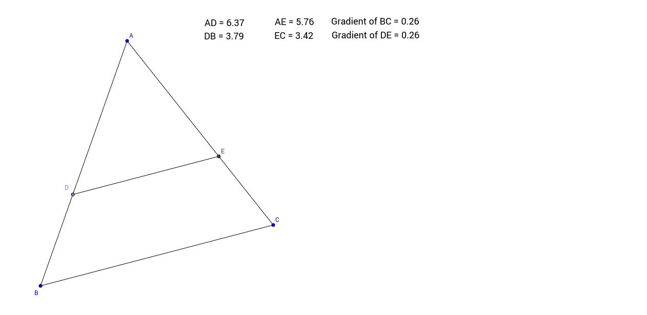 02. Intercept Theorem