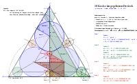 10 Kreise im gegebenen Dreieck
