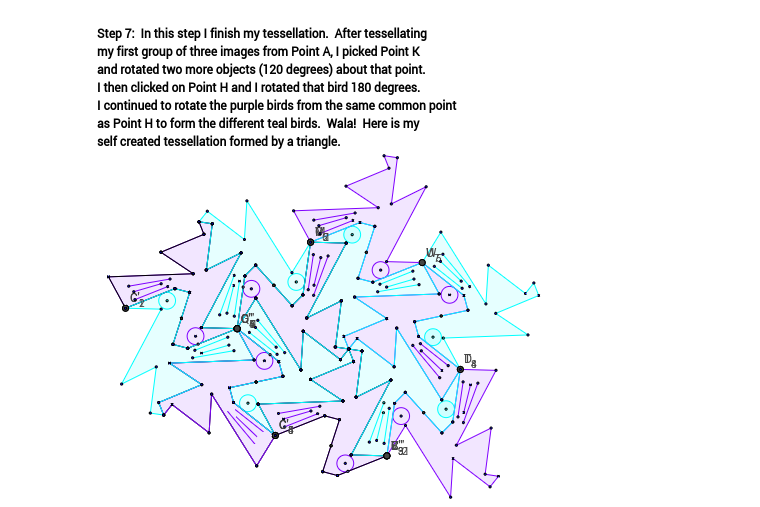 Tessellation from Triangle (Step 7)