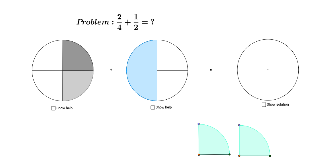 Calculating with fractions