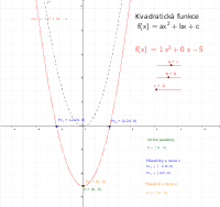 Kvadratická funkce