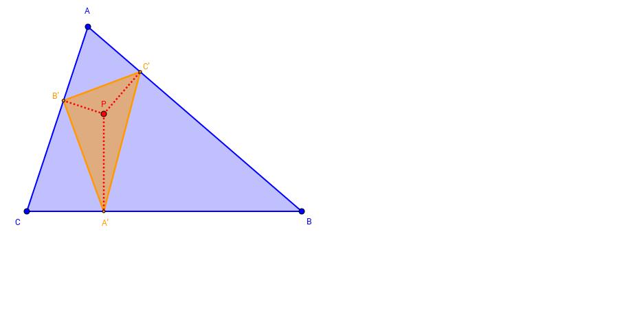 Triangle pedal