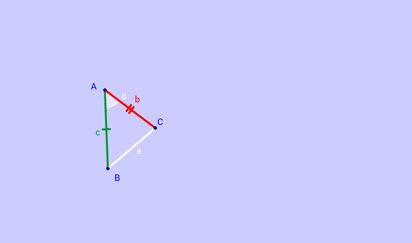 Primo Criterio di Congruenza dei Triangoli