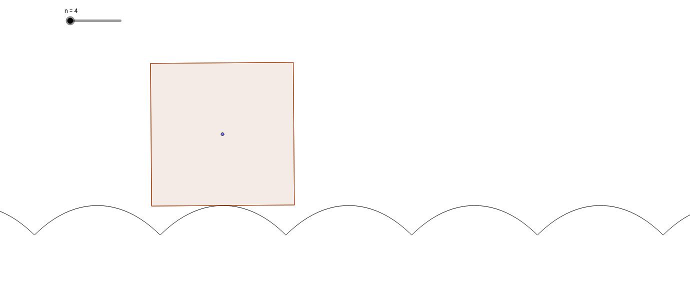 転がる正多角形