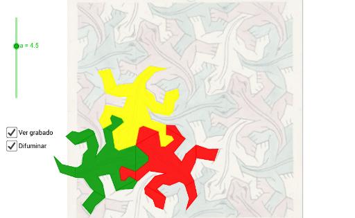 Teselaciones de M. C. Escher
