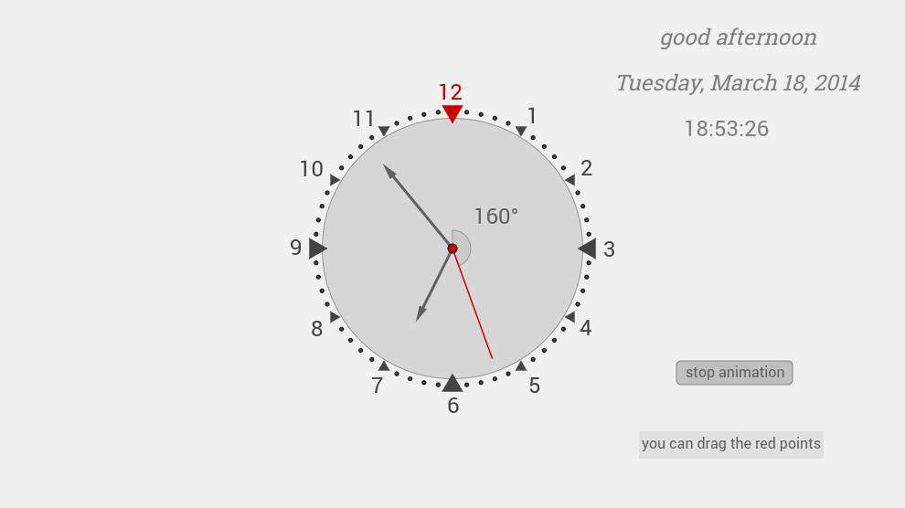 a clock(2)