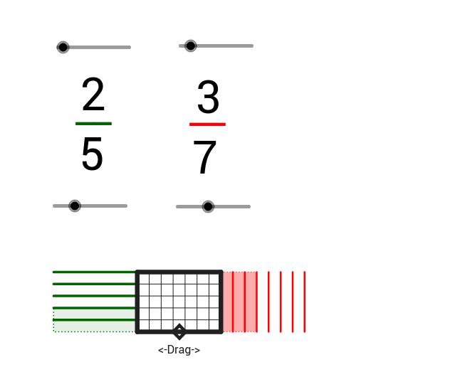 Common Denominators With Rectangles