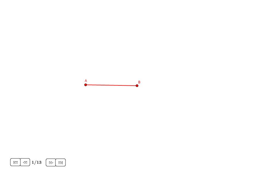Pentágono regular sobre una diagonal dada