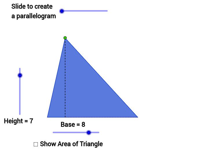 Area of Any Triangle