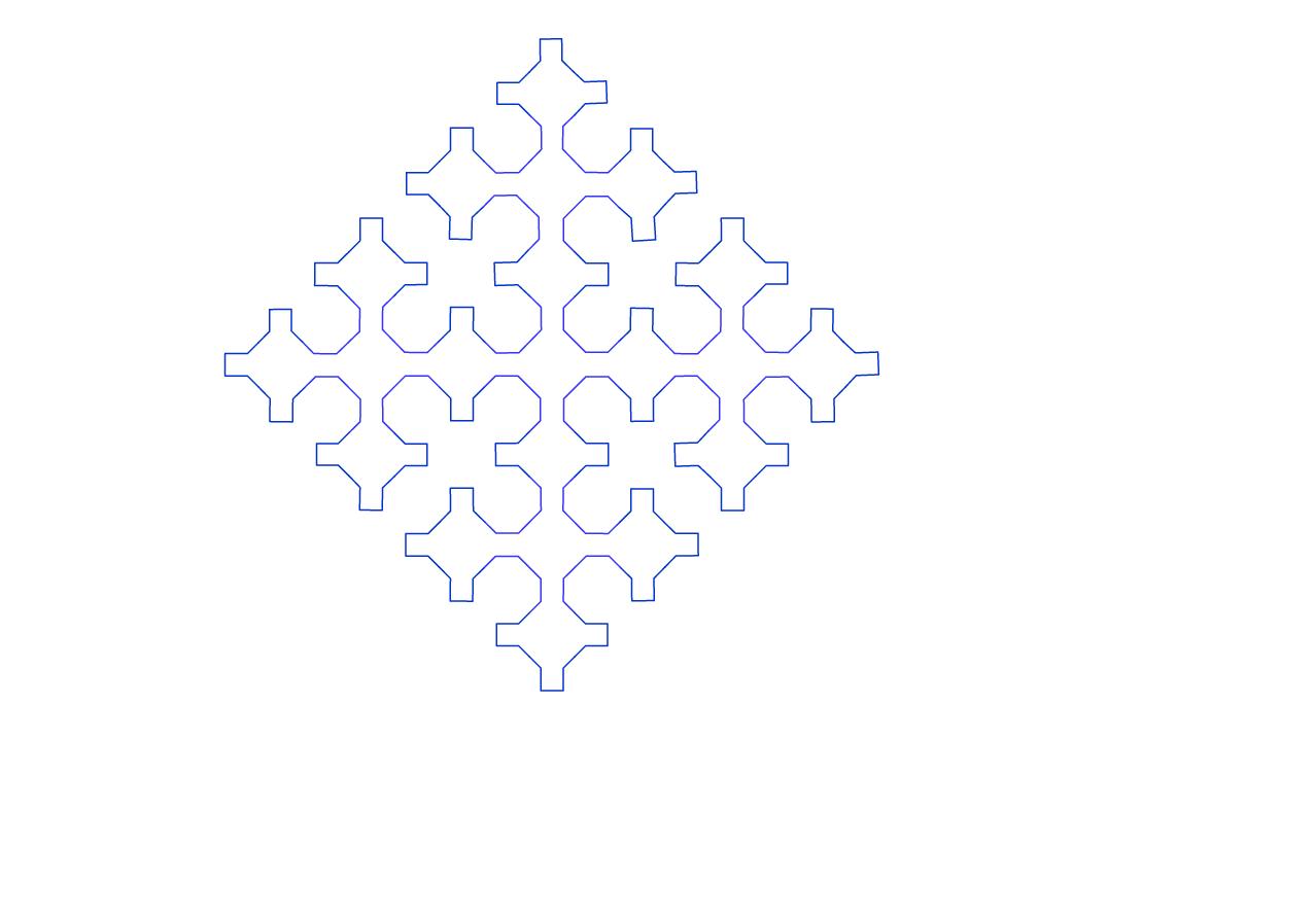 кривая Серпинского2