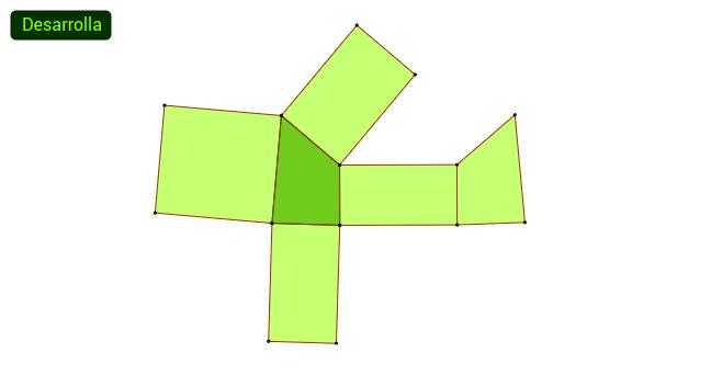Desarrollo de un prisma recto