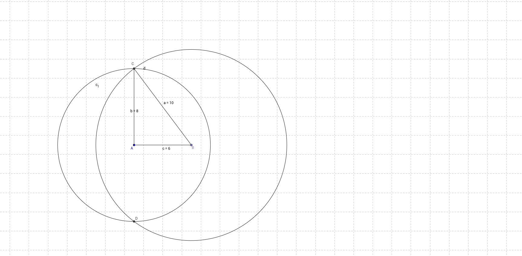 Dreieckskonstruktion (SSS)
