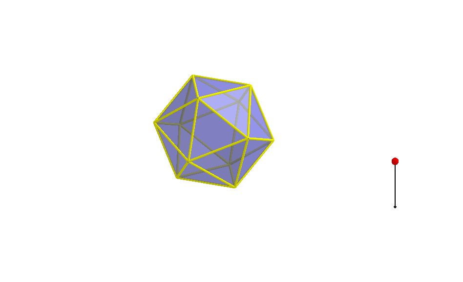 Net of Icosahedron