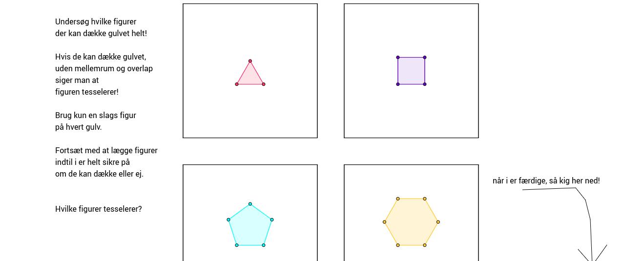 Copy of Gulvmønstre med regulære polygoner.