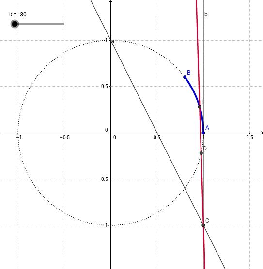 Equazioni parametriche: es. n. 21