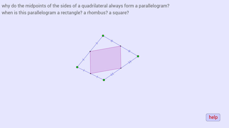 midpoint parallelogram
