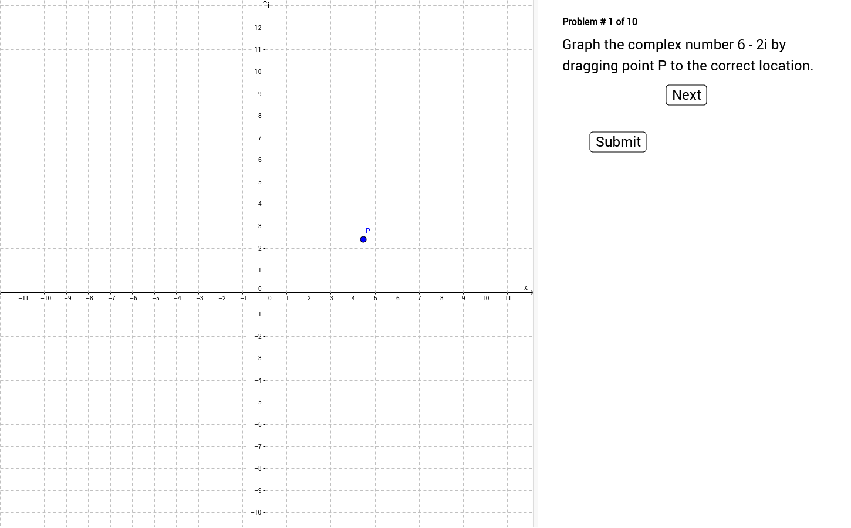 worksheet Graphing Complex Numbers Worksheet graphing complex numbers geogebra