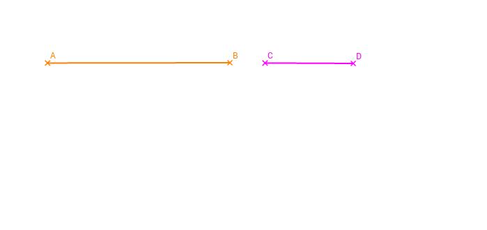 Diferencia de segmentos.