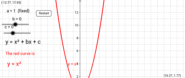 Quadratic curves and Equations Set 1 small