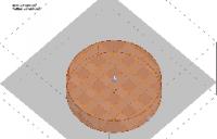 CYLINDRE - Rempli en cubes unités