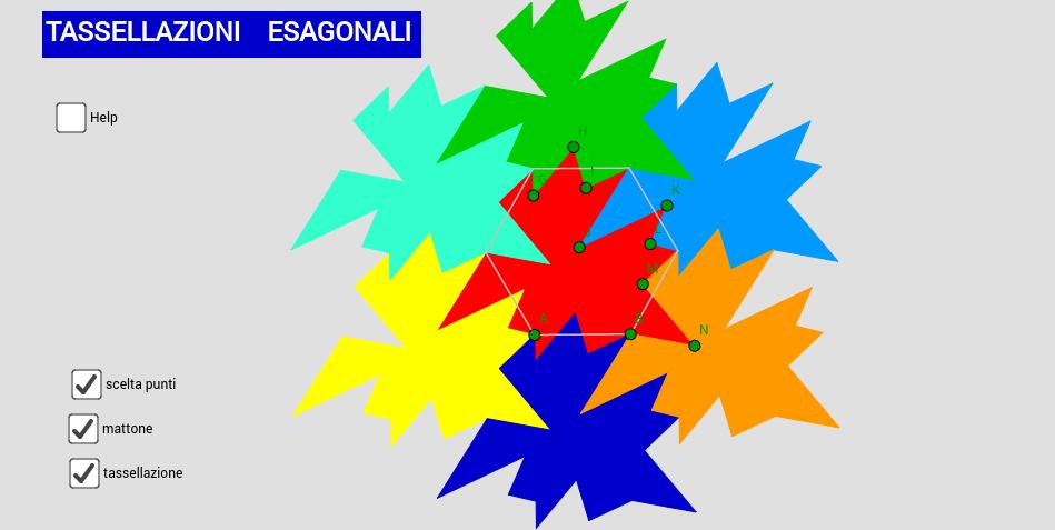 Tassellazioni  esagonali