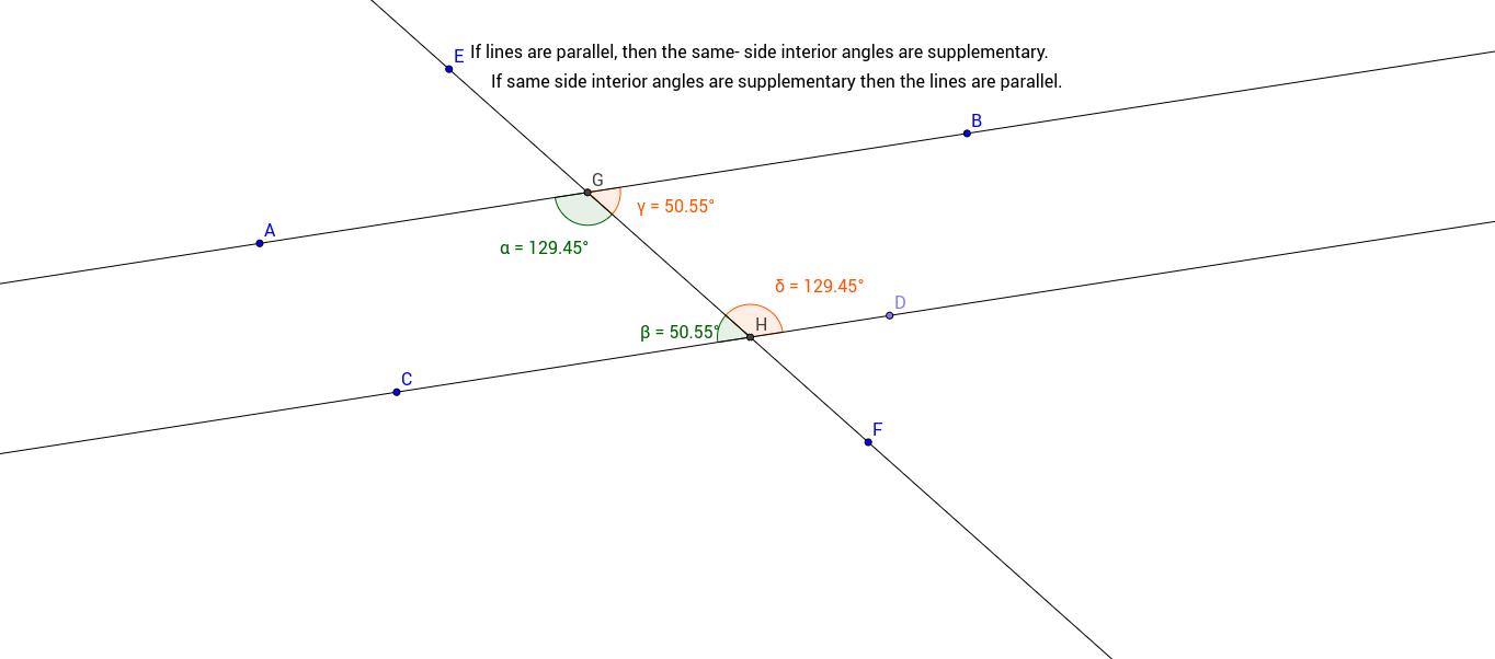 Same-Side Interior Angles