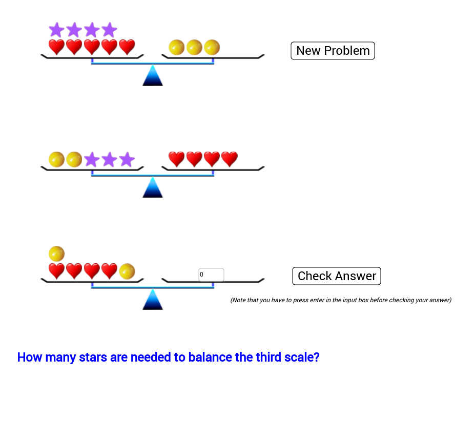 balancing equations- one/two step – GeoGebra