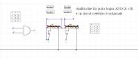 PortaLogicaAnd e circuito elettr.equiv.