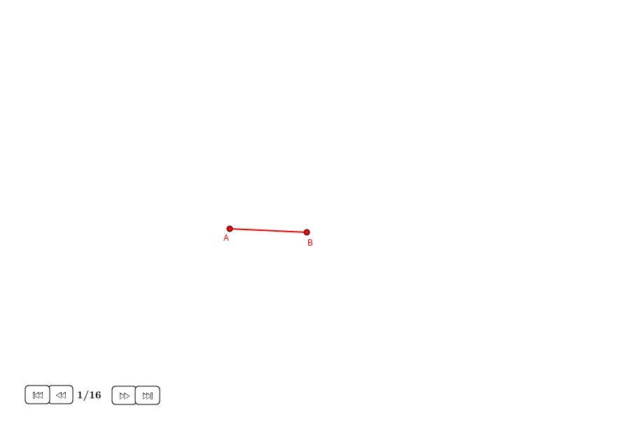 Heptágono aproximado sobre un lado dado