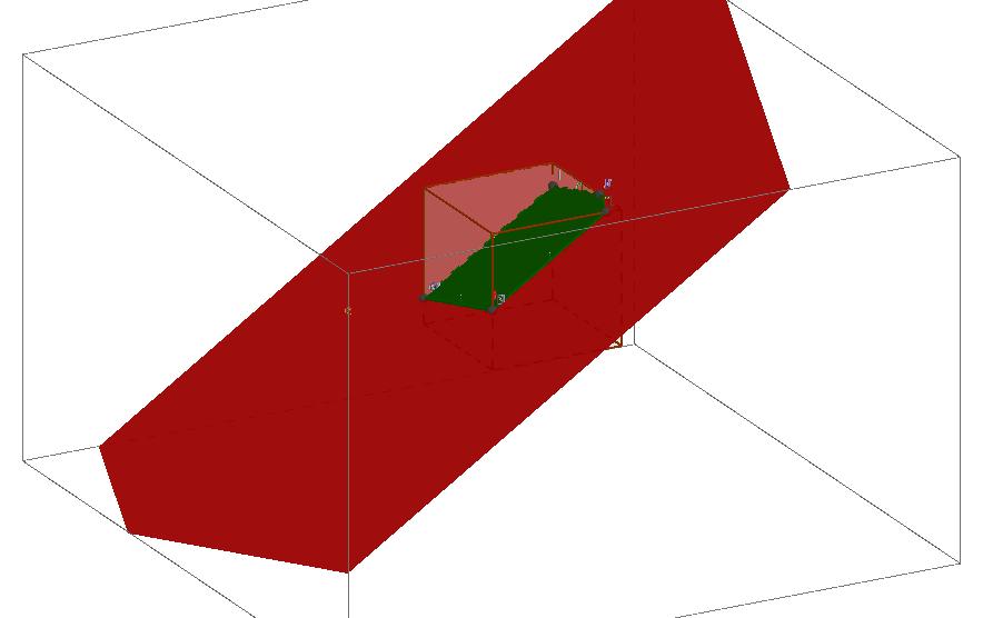 Presjek kocke i ravnike kroz točke D,K,M