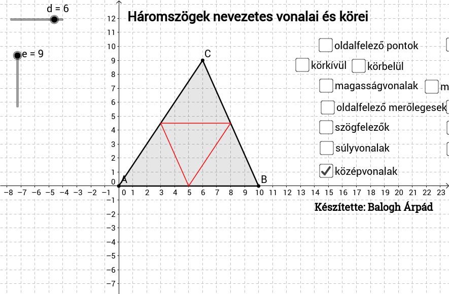 Háromszög_nevezetes