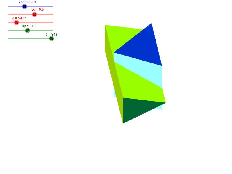 Dwa graniastosłupy prawidłowe trójkatne - 4